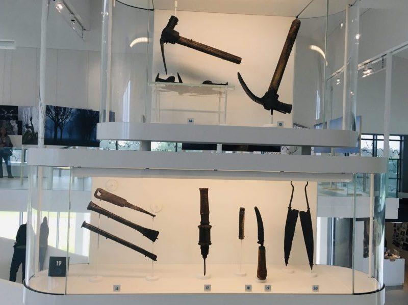 Archeologische vondsten Museum Hoge Woerd